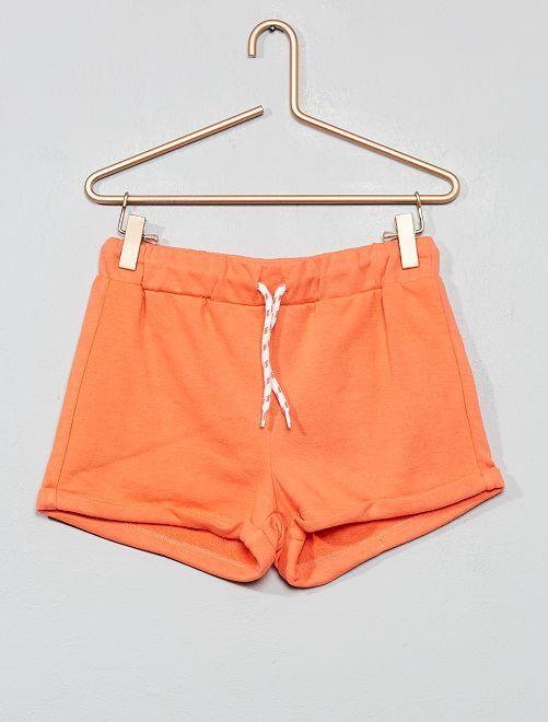 Short de deporte                     naranja coral