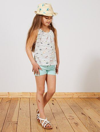 3c3e48411 Pantalones cortos y shorts Niña | azul | Kiabi