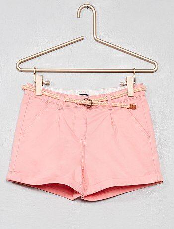 40dd1e976 Rebajas pantalones cortos niña Niña | Kiabi