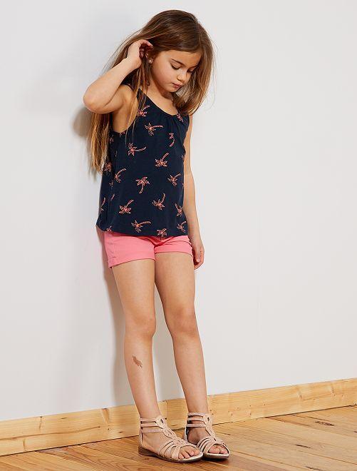 Short liso                                                                             ROSA Chica