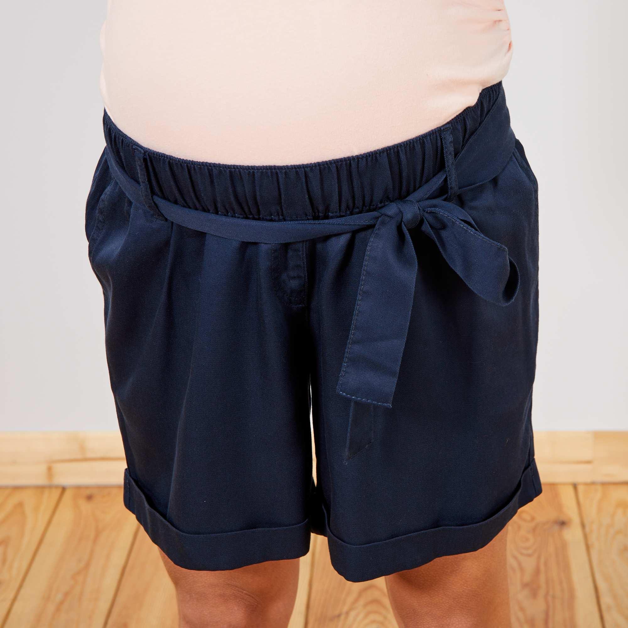 ed33ef1054 Short premamá vaporoso Premamá - azul - Kiabi - 15