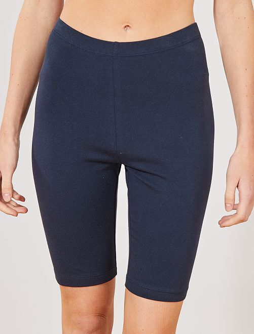 Short tipo ciclista                                                                                                                             azul Mujer talla 34 a 48