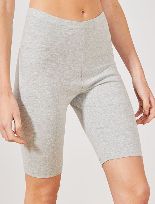 Short tipo ciclista                                                                                                                                         GRIS Mujer talla 34 a 48