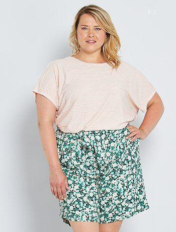 Pantalones Cortos Y Shorts Tallas Grandes Mujer Talla 4xl Kiabi