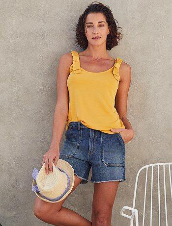 7aaf02ba0fc6 Rebajas pantalones cortos y shorts de mujer baratos | ropa Mujer ...