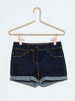 Shorts - Short vaquero elástico