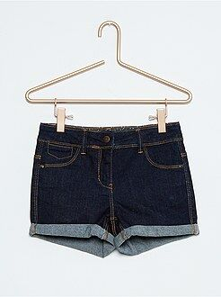 Shorts, piratas - Short vaquero elástico