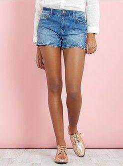 Pantalones cortos, short - Short vaquero