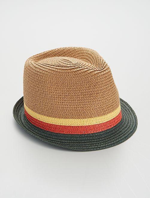Sombrero borsalino                             BEIGE/verde