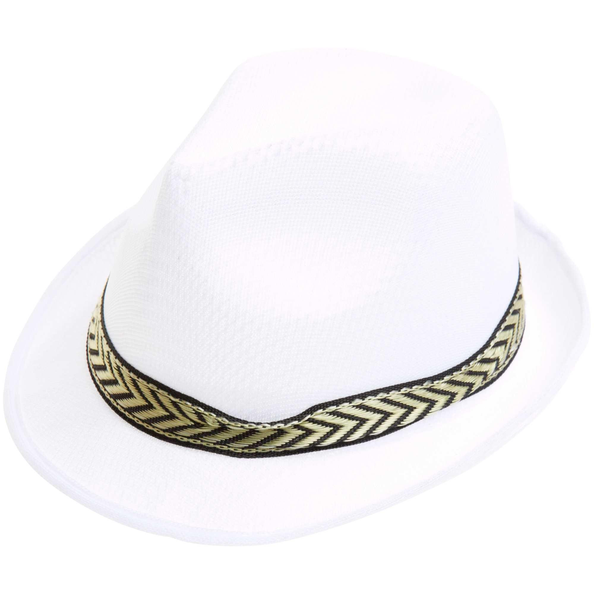 Sombrero borsalino Accesorios - blanco - Kiabi - 3,00€