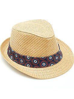 Accesorios - Sombrero borsalino con cinta 'wax'