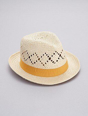 Sombrero borsalino de paja - Kiabi 2a31c6d3bb4