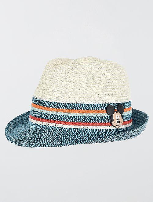 Sombrero borsalino 'Mickey'                                         azul