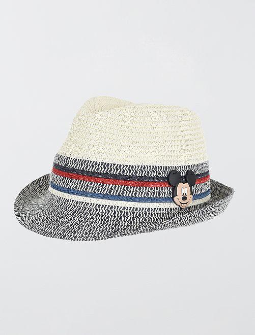 Sombrero borsalino 'Mickey'                                         gris