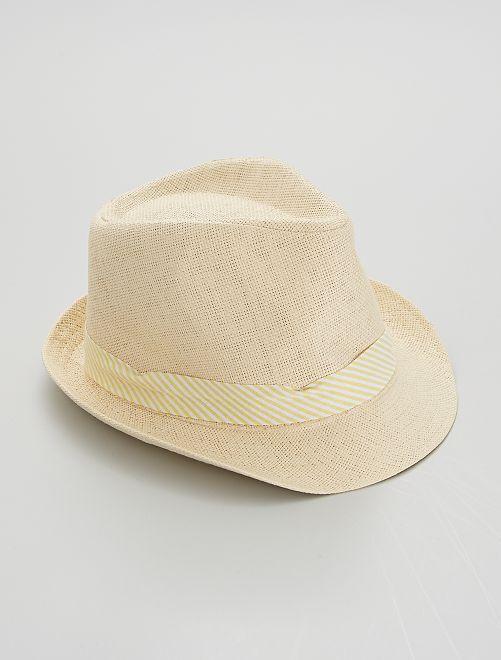 Sombrero borsalino 'piña'                             BEIGE