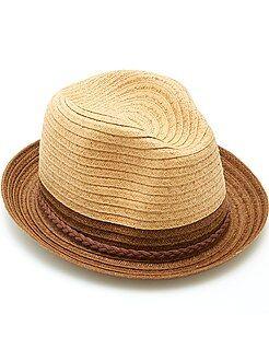 Sombrero borsalino tricolor