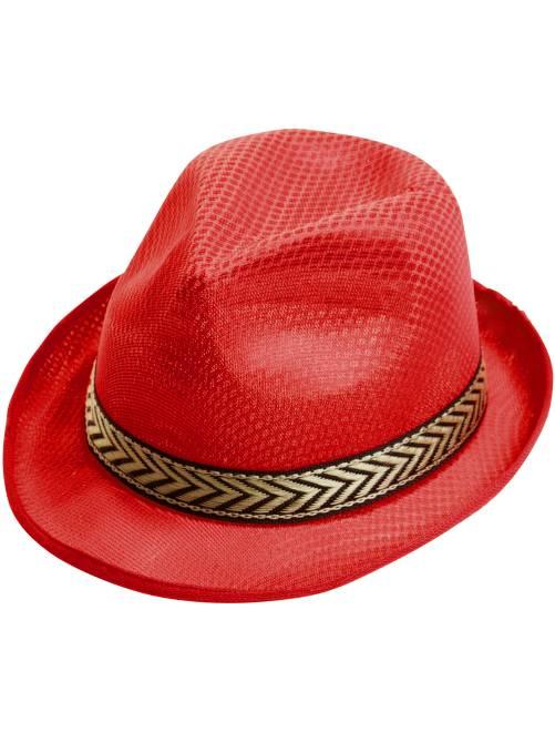 Sombrero de ala                             rojo