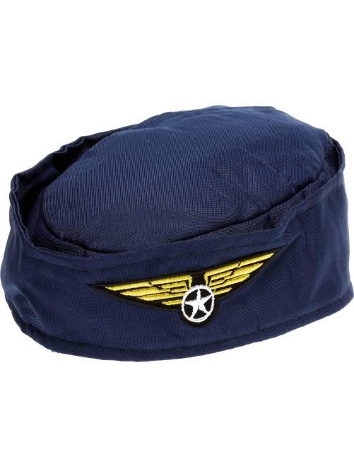 Sombrero de azafata                             azul marino