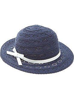 Sombreros,gorras - Sombrero de encaje - Kiabi