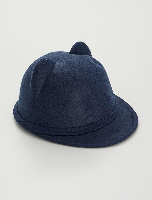 Sombrero de fieltro                                         AZUL