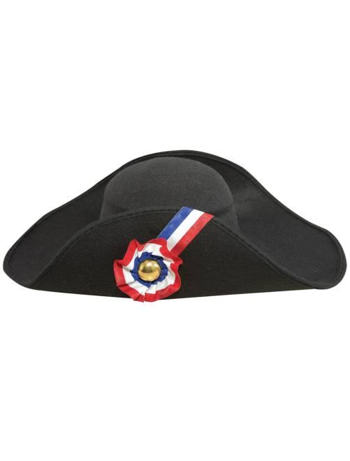 Sombrero de 'Napoléon' estilo lana                             negro