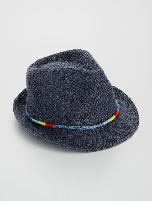 Sombrero de paja                             AZUL