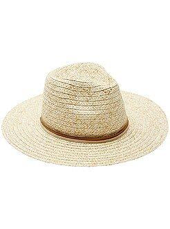 Sombrero de 'paja' - Kiabi