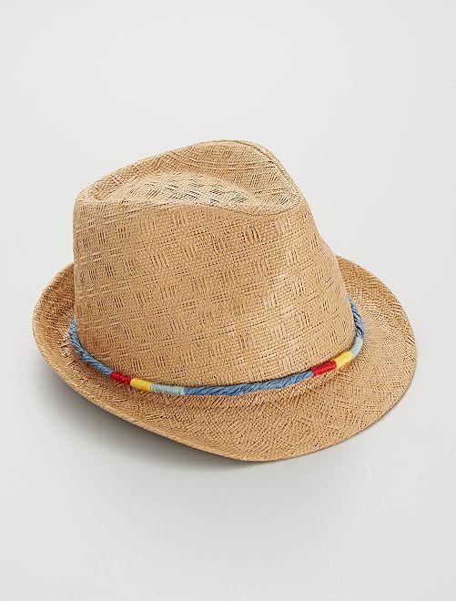 Sombrero de paja                             BEIGE