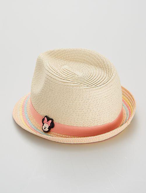 Sombrero de paja 'Minnie'                             multicolor