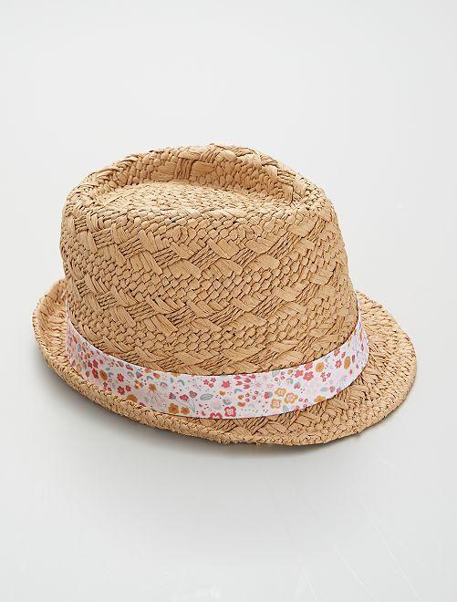 Sombrero de rafia                             BEIGE