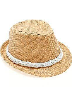 Complementos - Sombrero panamá con borde corto