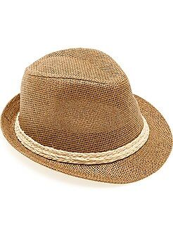 Accesorios - Sombrero panamá de ala corta