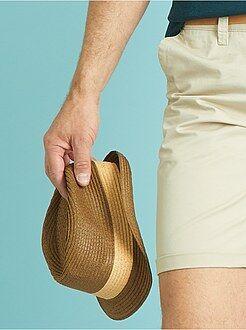 Gorros - Sombrero panamá de ala corta