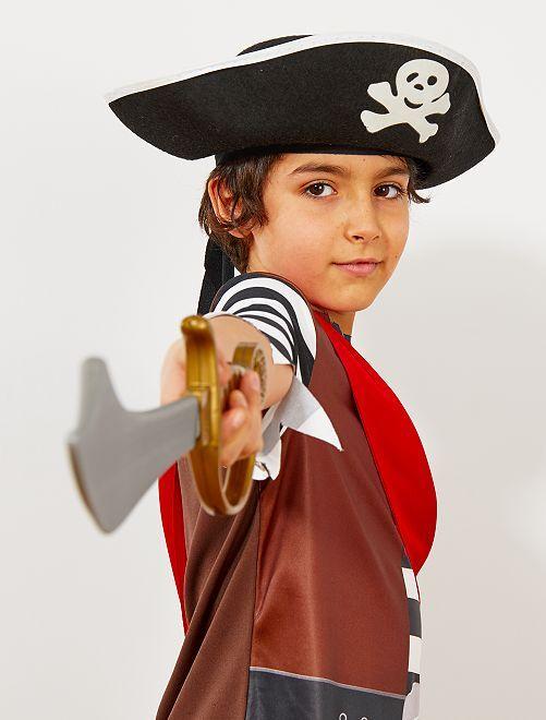 Sombrero pirata para niños                             negro Accesorios