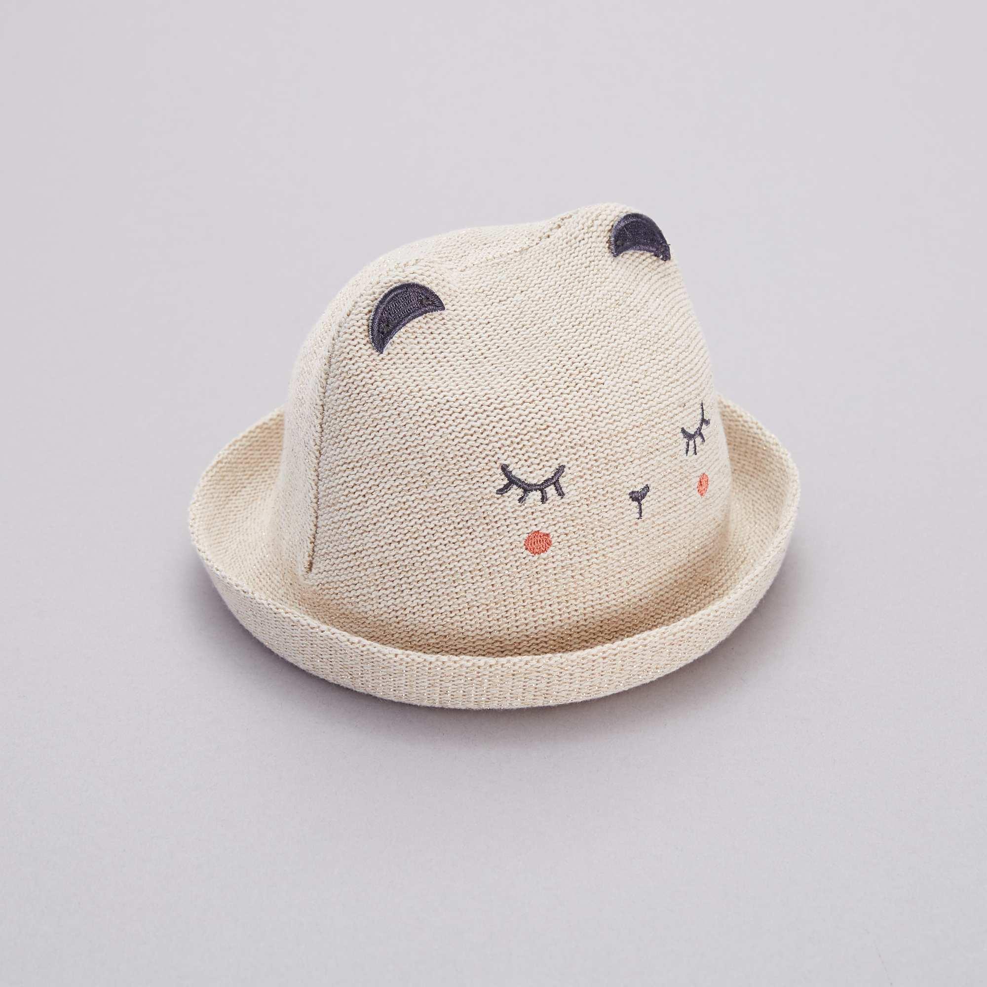 a1839e4cd3cf0 Sombrero tipo paja flexible Bebé niña - BEIGE - Kiabi - 7