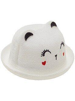 Complementos - Sombrero tipo rizo 'gato'