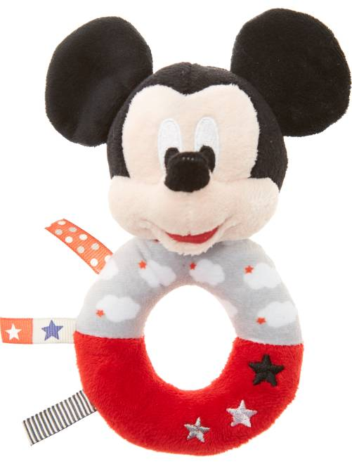 Sonajero de peluche 'Mickey'                                         mickey Bebé niño