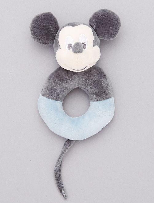 Sonajero de peluche 'Mickey Mouse'                             AZUL Bebé niño