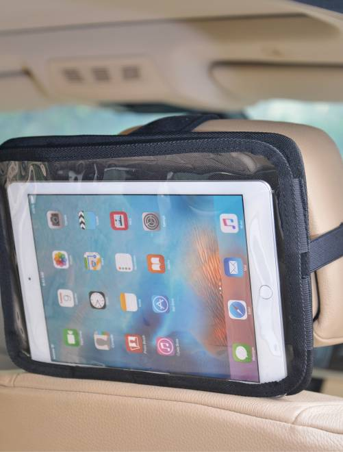 Soporte de tablet para reposacabezas de coche                             negro