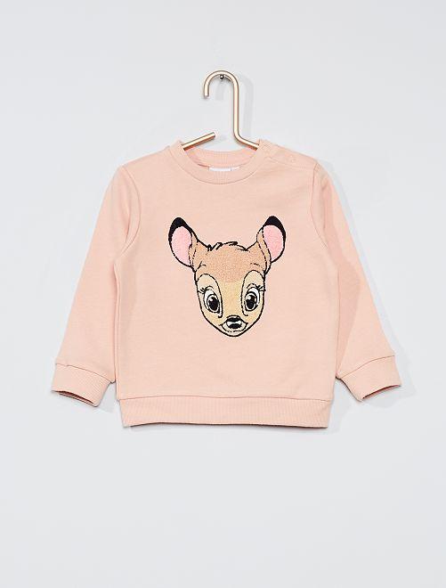 Sudadera 'Bambi' 'eco-concepción'                                         ROSA