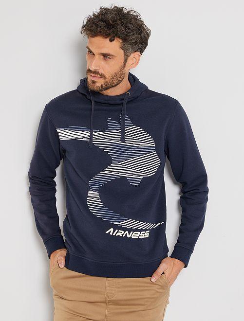 Sudadera con capucha 'Airness'                             azul marino