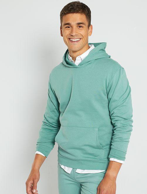 Sudadera con capucha eco-concepción                                             azul