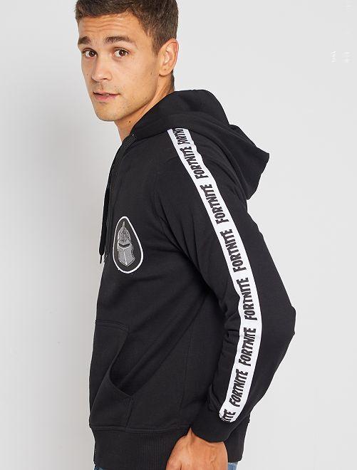 Sudadera con capucha 'Fortnite'                             negro