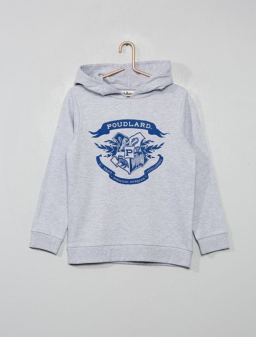 Sudadera con capucha 'Harry Potter'                             gris chiné