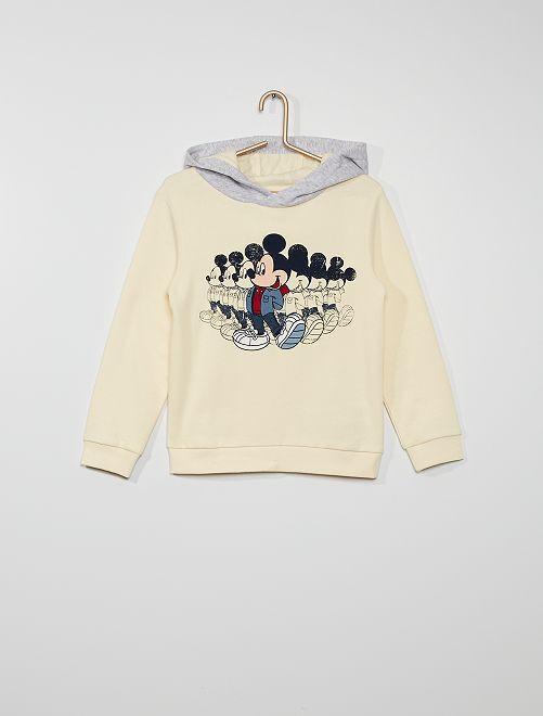 Sudadera con capucha 'Mickey' 'Disney'                                         BLANCO
