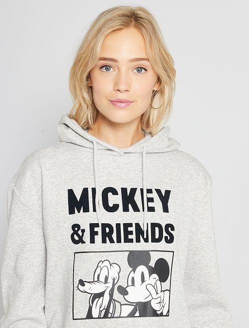 Sudadera con capucha 'Mickey'                                                                                                                 GRIS