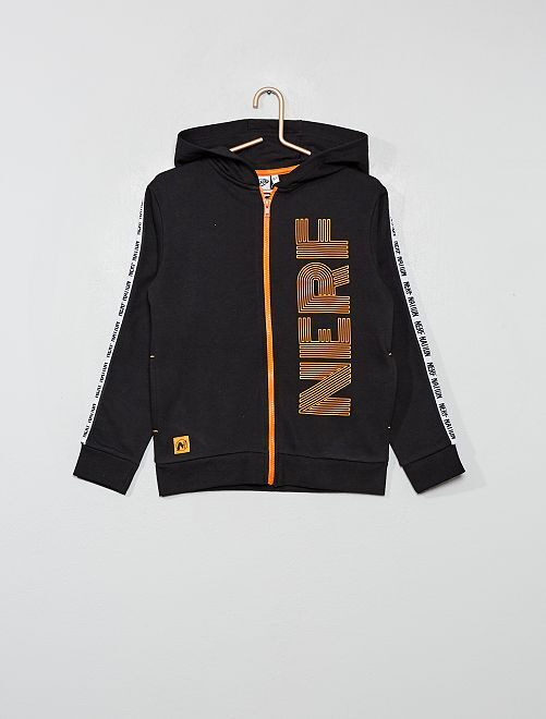 Sudadera con capucha 'Nerf'                                         negro