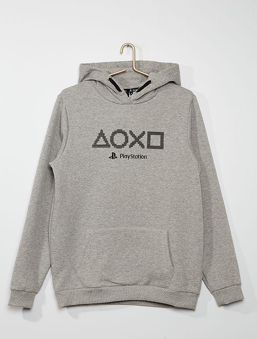 Sudadera con capucha 'PlayStation'                             GRIS