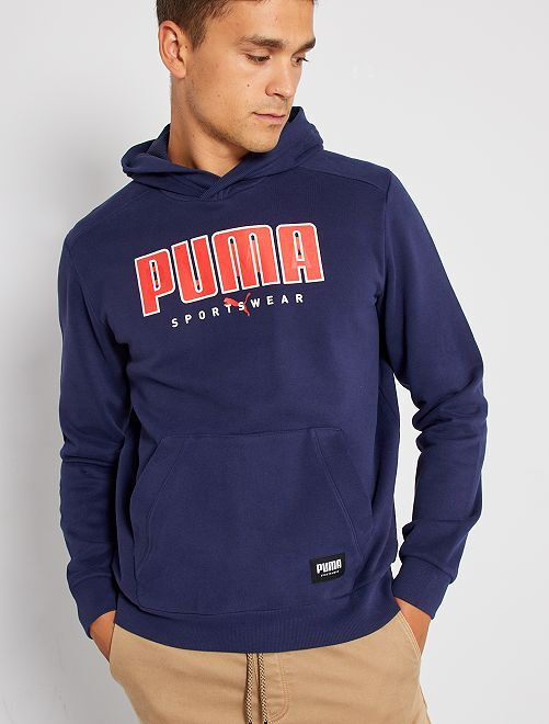 Sudadera con capucha 'Puma'                             marino