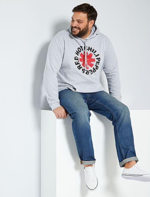 Sudadera con capucha 'Red Hot Chili Peppers'                             GRIS